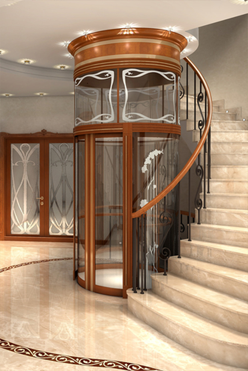 Chl home carolina home lift for Custom home elevator