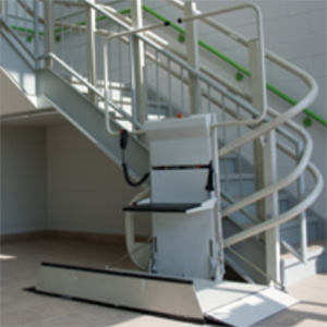 Savaria commercial platform lift